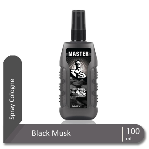 MASTER Spray Cologne Black Musk Botol 100 ml