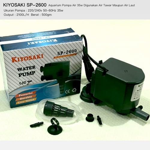Jual Aquarium Pompa Air 35w KIYOSAKI SP2600 Bisa Digunakan ...
