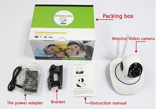 IP Wireless Camera HD 720P P2P