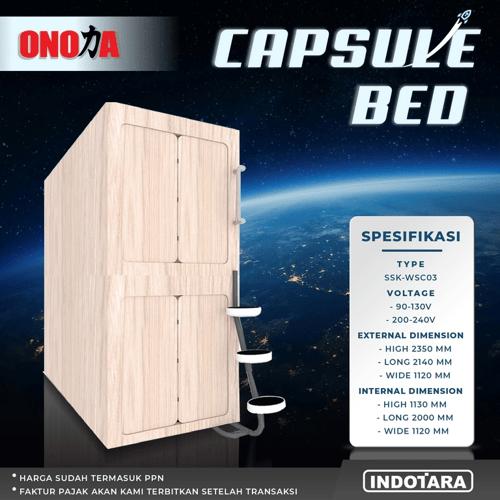 CAPSULE BED ONODA - SSK-WSC03