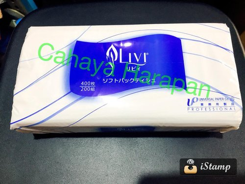 Tissue Facial Livi 200 S - Tissue Refill - Export Japan - HIGH QUALITY - Lembaran