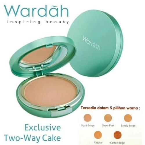 Wardah Exclusive Two Way Cake 12 g - 01 Light Beige