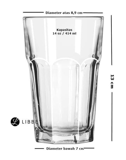 Libbey 15244 Gibraltar Beverage 14 OZ / 414 ML