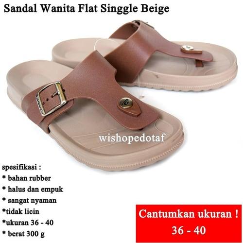 Sandal  Flat Wanita Singgle
