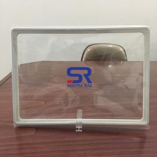 Frame Promosi A5+ Stand Frame 75 degree - Clear