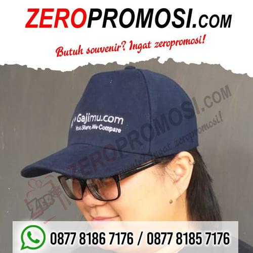 Topi raphel untuk media promosi perusahaan