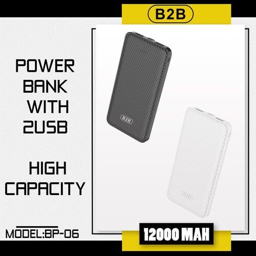 Power Bank ORI 12.000mAh B2B POLYMER POWERBANK BP-06