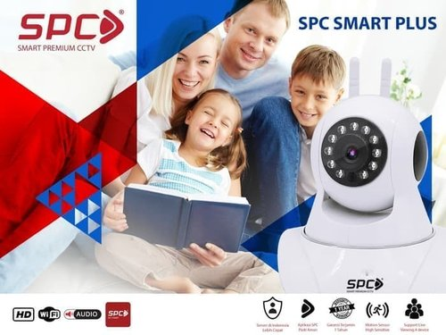IP Cam CCTV Wifi Wireless Portable SPC Smart Babycam