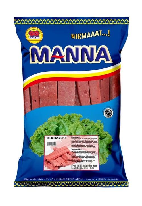 GO MANNA Sosis Ikan Stik