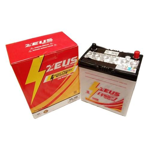 Aki Mobil Suzuki Carry Futura, Splash, APV (GE/GL/GX/SGX/LUXURY) NS40Z LM Zeus Aki Basah