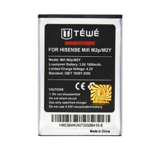 BATTERY TEWE ANDROMAX MIFI M2P/M2Y MODEM/ MODEM XL GO 1800MAH AAA