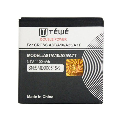 BATTERY TEWE CROSS A8T/A7T DP 1100MAH AA