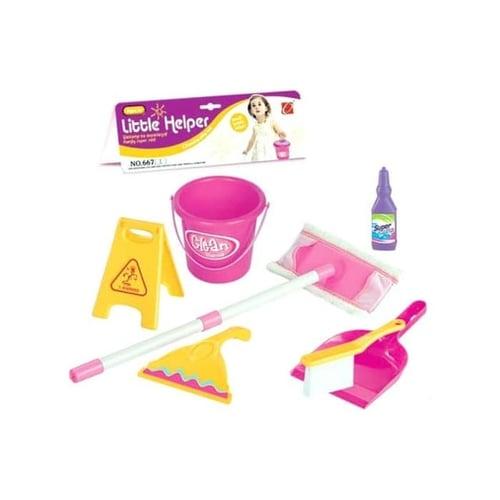 Mainan Edukasi Anak - Little Helper Cleaning Set Kantong Pengki Sikat
