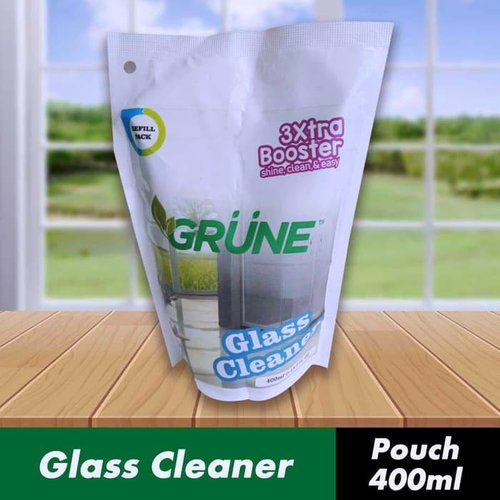 GRUNE - Glass Cleaner Pouch / Pembersih Kaca Pouch - 400ml