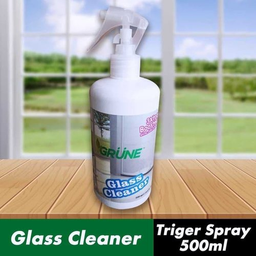 GRUNE - Glass Cleaner Triger Spray / Pembersih Kaca Spray - 500ml