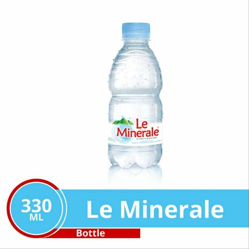 LE MINERAL air mineral botol 330 ml isi 24 botol