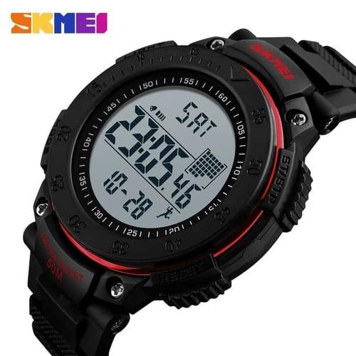 Jam Tangan Pria Digital SKMEI 1238 Red Water Resistant 50M