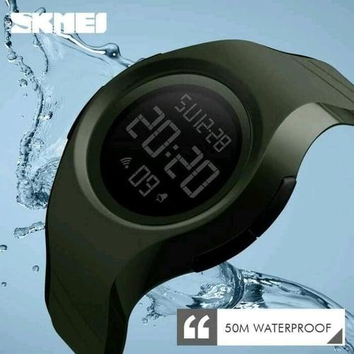 Jam Tangan Pria Digital SKMEI 1269 Black Water REsistant 50M