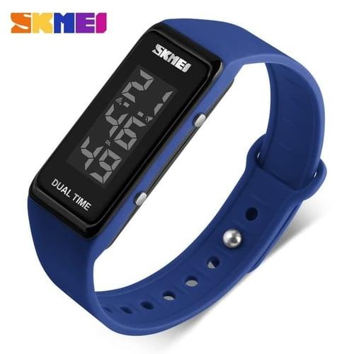 Jam Tangan Pria Digital SKMEI 1277 Dark Blue Water Resistant 30M