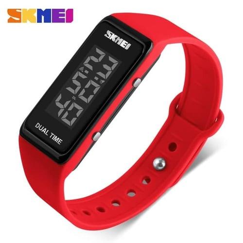 Jam Tangan Pria Digital SKMEI 1277 Red Water Resistant 30M