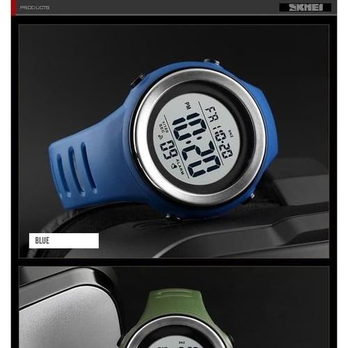 Jam Tangan Pria Digital SKMEI 1394 BLUE WaterResistant 50m