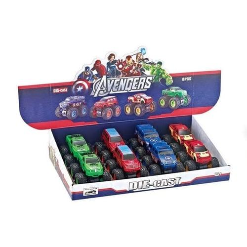 Mainan Anak - Die Cast Mobil Big Foot Avengers Super Hero