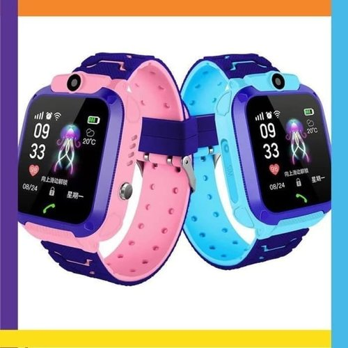 Jam Tangan Pintar Anak Kids Smart Watch Camera Call GPS Glow In Dark