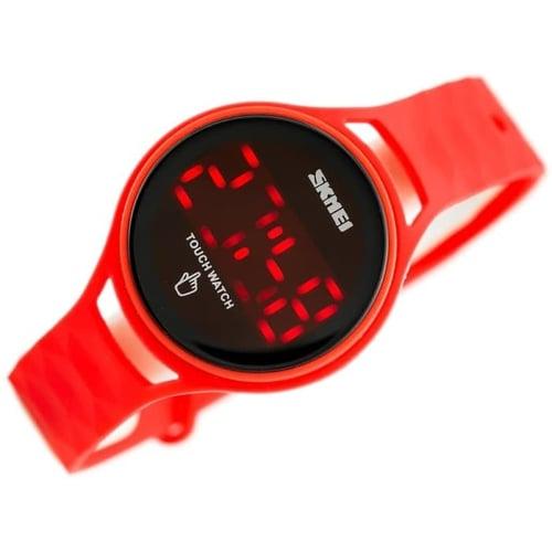 Jam Tangan Wanita Digital SKMEI 1230 RED Water Resistant 30m