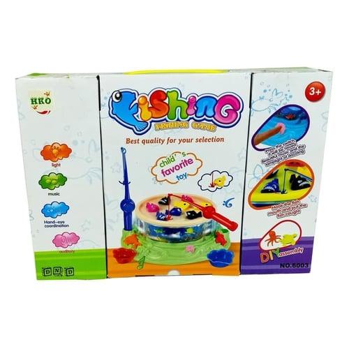 Mainan Anak - Fishing Game Sweet Home Pancingan Ikan Magnet 6003