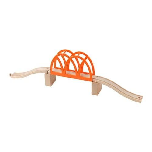 Mainan Anak - IKEA LILLABO Jembatan Kereta Api Kayu Set Isi 5 Pcs