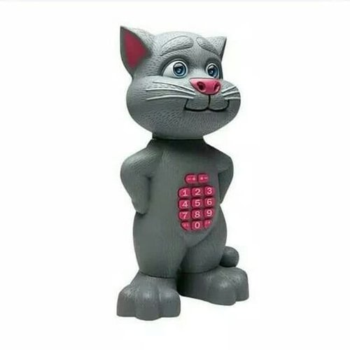 Mainan Edukasi Anak - Tomm Cat Bicara Tombol Talking Dongeng Story