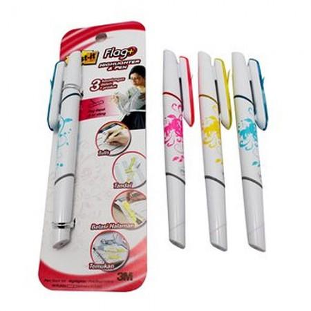 POST IT Flag Pen Hl Assorted 3 1 7000040060