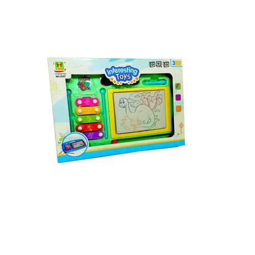 Mainan Anak - Interesting Toys Papan Tulis Magnet Kulintang Drawing