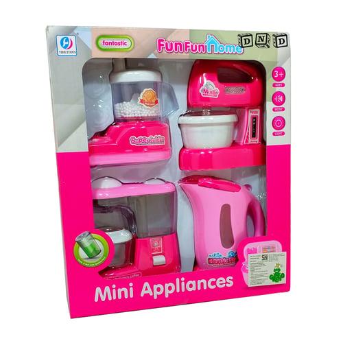 Mainan Anak - FunFun Home Mini Appliances House Hold Coffee Maker