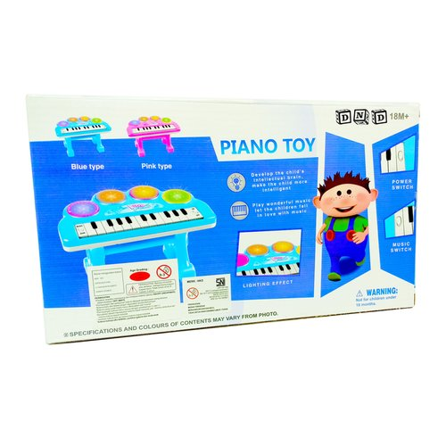 Mainan Anak - Piano Toy Little Pianist 23 Keys Keyboard Mini Organ