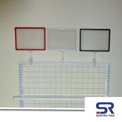 Frame Promosi dan Jepitan uk A4 / Frame Stand / Frame Promosi Toko