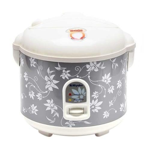 Miyako MCM 528 Silver Magic Com Rice Cooker 1.8 Liter