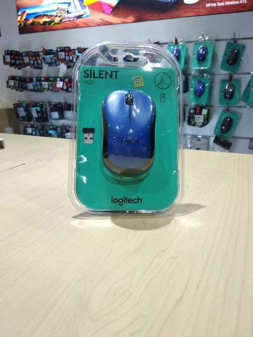 M 221 SILENT WIRELESS MOUSE-BLUE