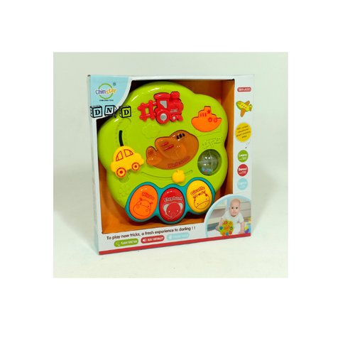 Mainan Edukasi Anak - Wisdom Star Play Musikal Baby Learning Panel