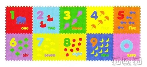 Puzzle Matras Evamats / Evamat - Angka Gambar 123 Berhitung Anak