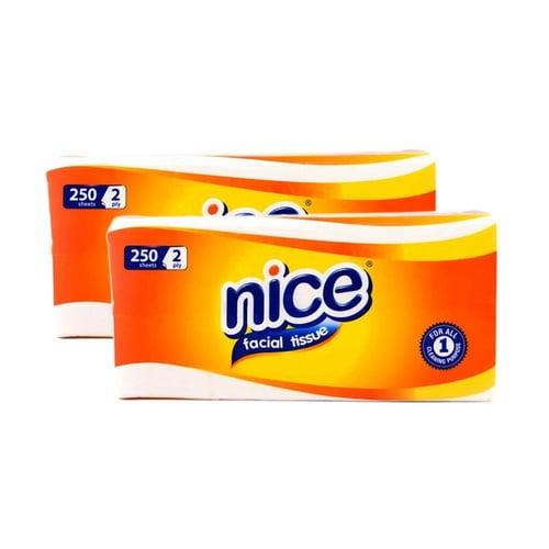 Tissue Nice 250 - Tissue Refill - Nice Lembaran - Facial - Refill