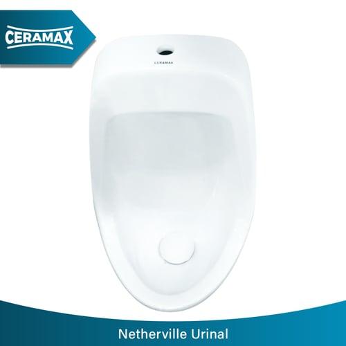 CERAMAX Netherville Urinal White Complete Set
