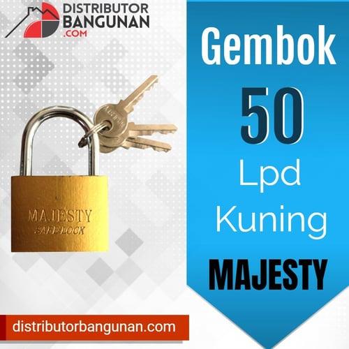 Gembok 50 Kuning Lpd MAJESTY