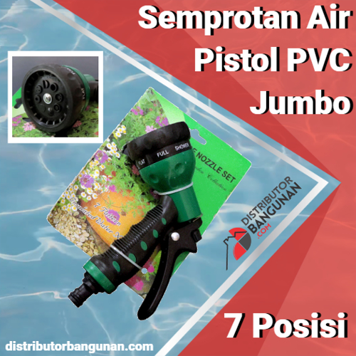 Semprotan Air Pistol PVC Jumbo 7 Posisi