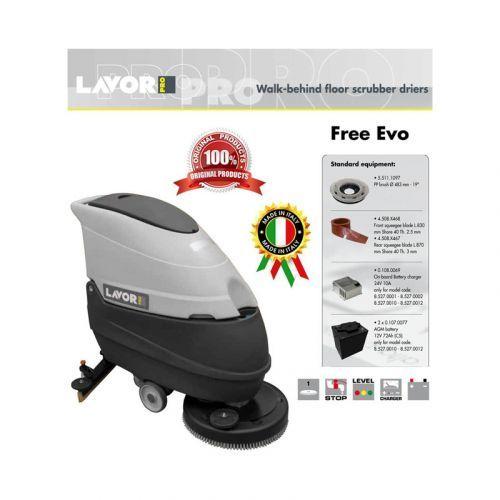 LAVORPRO Walk Behind Floor Scrubber Driers Free Evo 50E