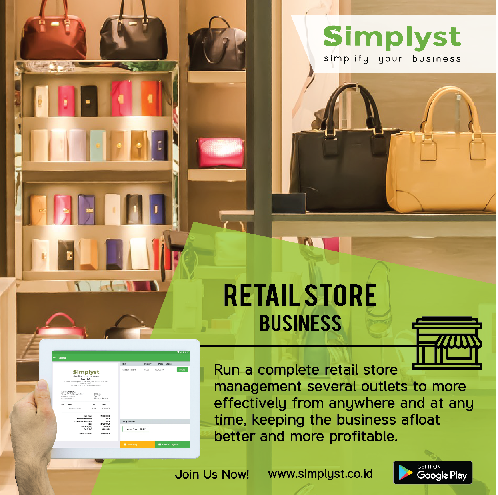 Retail Store Management - Paket POS -Inventory