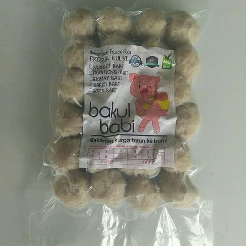 Bakso Babi / Baso Babi / Pork Ball Homemade No Msg No Pengawet No Borax