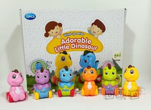 Adorable Little Dinosaur Dino Kecil Lucu Jalan - baby Toys