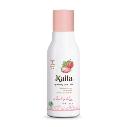 KAILA Natural Body Lotion 100ml - Strawberry