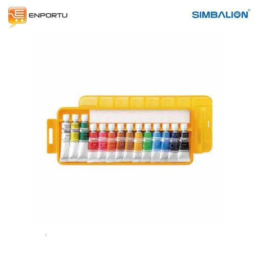 Simbalion Watercolor Plastic Case WCP 14 / GCP 14A - Cat Air Simbalion